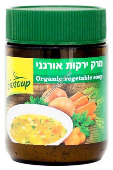 Органический овощной суп в порошке 150 гр - NaturaFood