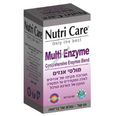 Мульти энзим 60 таблеток - Nutri Care