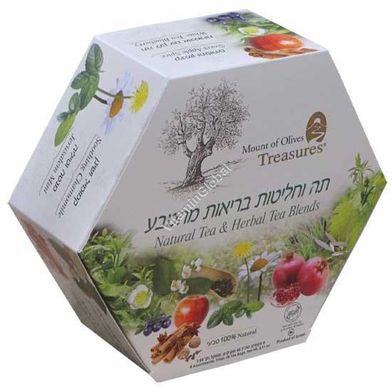 Чайное ассорти 6 видов чая 48 пакетиков - Аданим