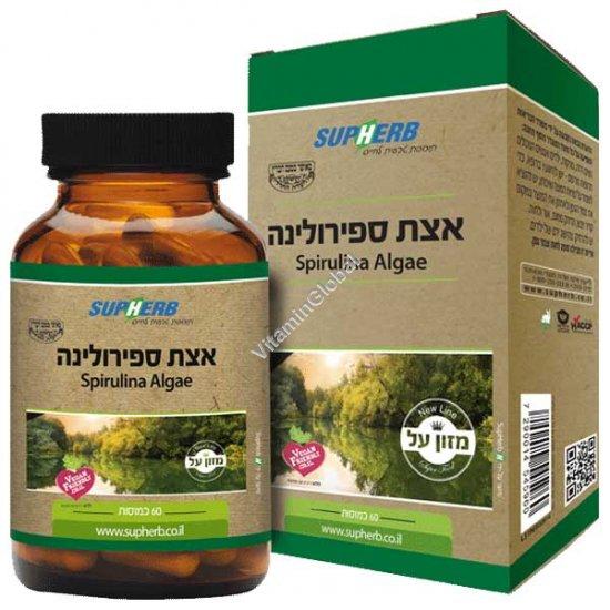Спирулина 600 мг 60 капсул - SupHerb