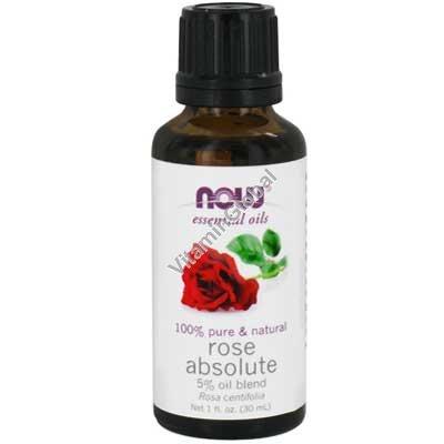 Эфирное масло 5% роза абсолют 30 мл - Now Foods