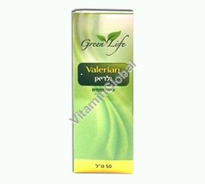 Валериановые капли 50 мл - Green Life