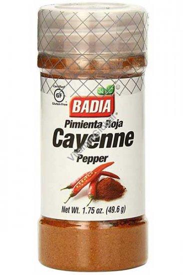 Безглютеновый молотый кайенский перец 49.6 гр - Badia