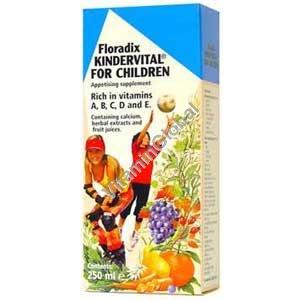 Киндервиталь - мультивитамин для детей 250 мл - Salus