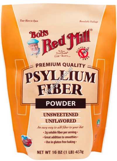 Оболочка семян подорожника в порошке 453 гр - Bob\'s Red Mill