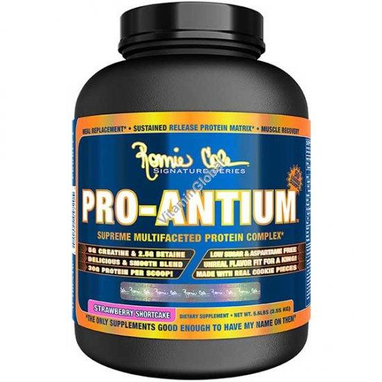 Pro-Antium протеиновый комплекс вкус клубничный тортик 2.55 кг - Ронни Колеман