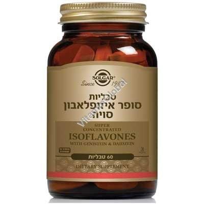 Супер изофлавон сои 60 таблеток - Сольгар