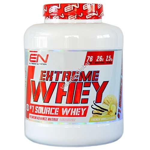 Сывороточный протеин с ванильным вкусом 2.50 кг - Extreme Nutrition
