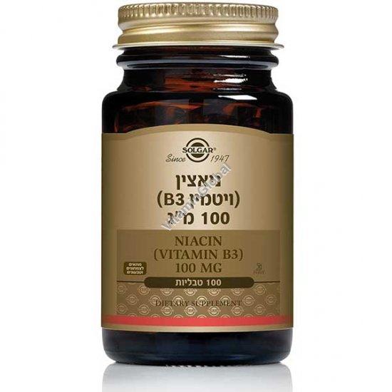 Ниацин В3 100 мг 100 таблеток - Сольгар