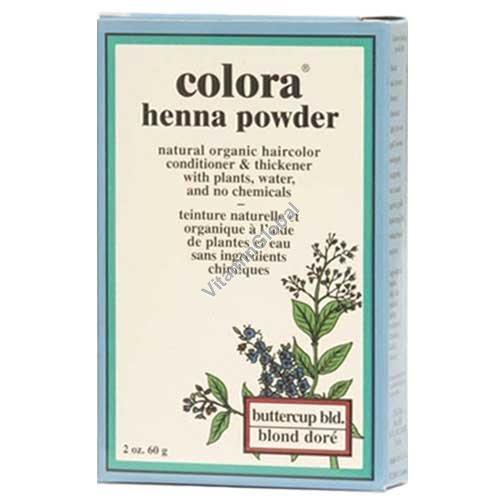 Хна для волос цвет светло-пшеничный 60 гр - Colora