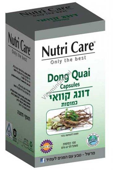 Анжелика Sinensis корень 100 растительных капсул - Nutri Care