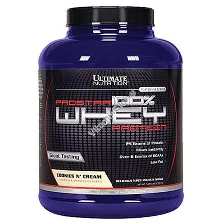 Prostar сывороточный протеин вкус печенье-крем 2.39 кг - Ultimate Nutrition