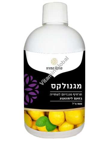 Молочко Магнолакс - средство от запоров со вкусом лимон-мята 500 мл - Oriental Secrets