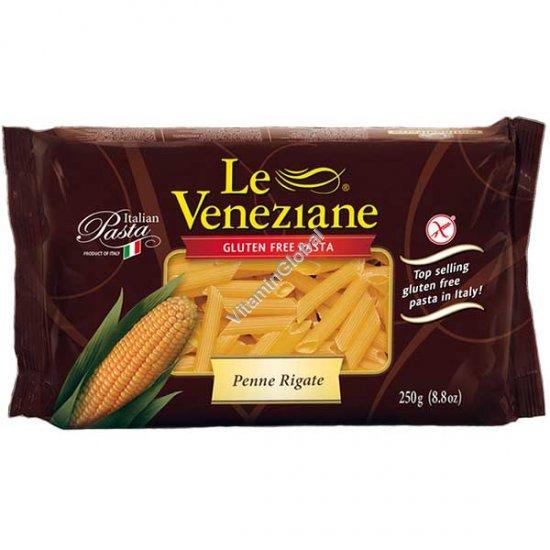 Кукурузные макароны трубочки без глютена 250 гр - Le Veneziane