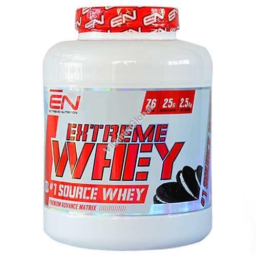 Сывороточный протеин со вкусом печенье-крем 2.50 кг - Extreme Nutrition