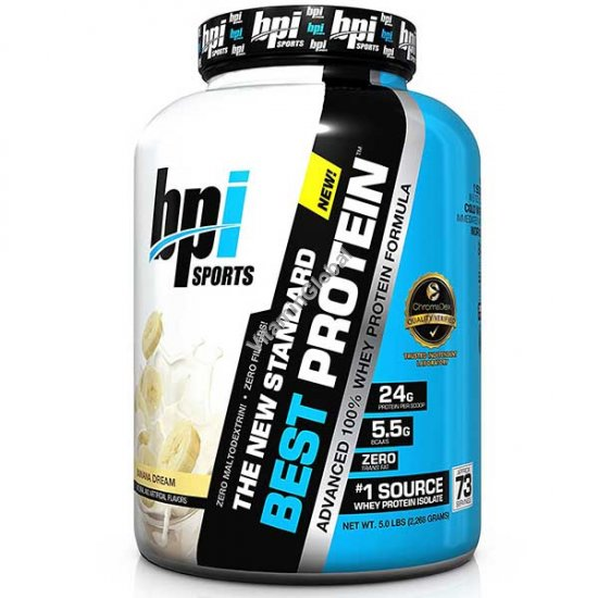 Бест протеин банановый вкус 2.268 кг - BPI Sports