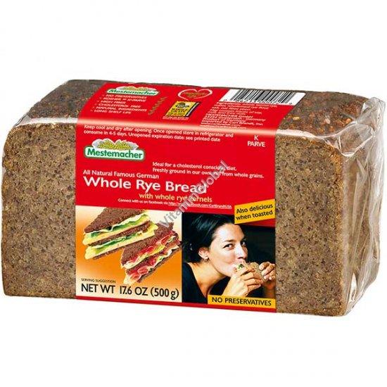 Цельнозерновой ржаной хлеб 500 гр - Mestemacher