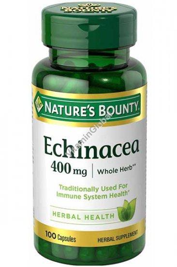 Эхинацея 400 мг. 100 капсул - Nature\'s Bounty