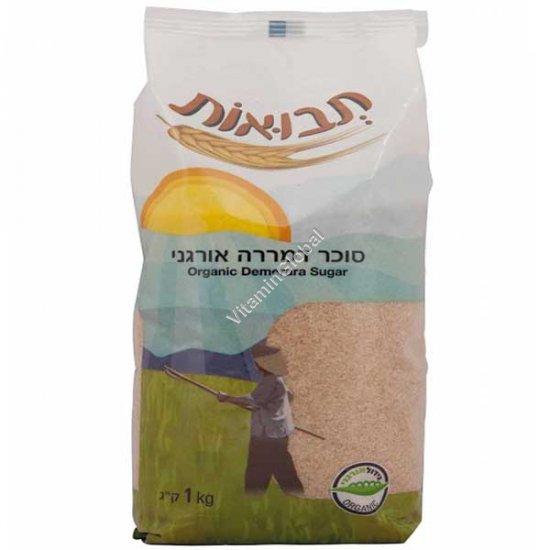 Органический коричневый сахар Демерара 1кг - Tvuot