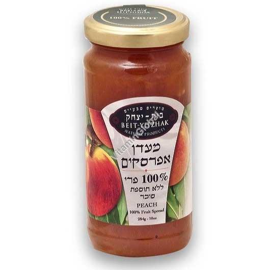 Натуральный джем из персиков без добавления сахара 284 гр - Бейт Ицхак