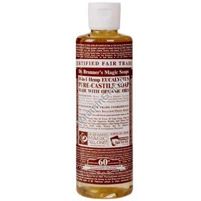 Натуральное жидкое эвкалиптовое мыло 472 мл - Dr. Bronner