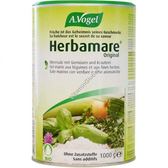 Морская соль со специями Herbamare 1 кг - A.Vogel