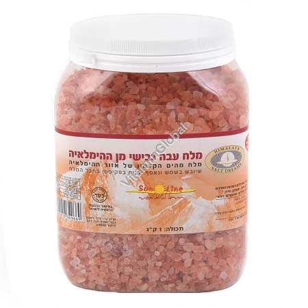 Гималайская розовая соль крупная 1000 гр - Sun Line