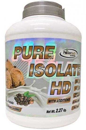 Изолят сывороточного протеина с кофейным вкусом 2.27 гр - PowerTech Nutrition