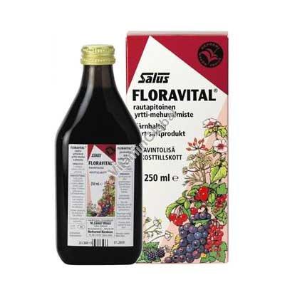 Флоравиталь - жидкое железо и витамины 250 мл - Salus