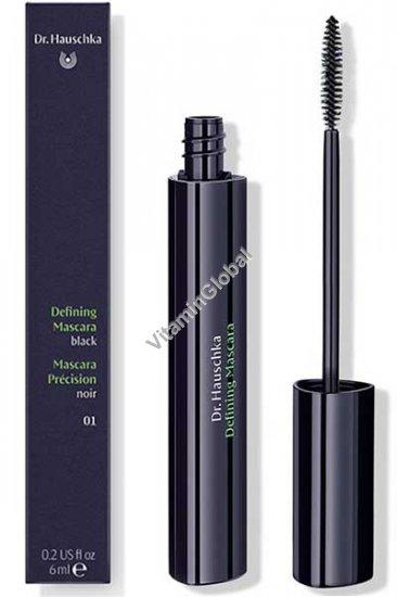Тушь для ресниц черная (01) 6 мл - Dr. Hauschka