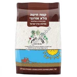 Органическая мука пшеничная грубого помола 1 кг - Minhat HaEretz
