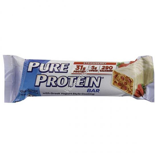 Протеиновый батончик клубника и йогурт 78 гр - Worldwide