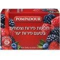 Чай - лесные ягоды 20 пакетиков - Помпадур