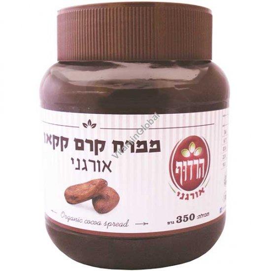 Органическая шоколадная какао паста 350 гр - Harduf