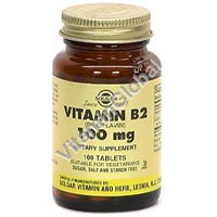 Витамин В-2 100 мг 100 капсул - Солгар