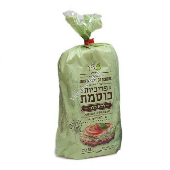 Безглютеновые гречневые хлебцы без соли 115 гр - Agas