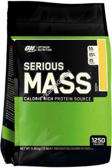 Гейнер Serious Mass банановый вкус 5.455 кг - Optimum Nutrition