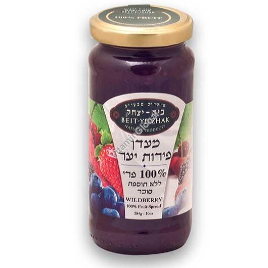 Натуральный джем из лесных ягод без добавления сахара 284 гр - Бейт Ицхак