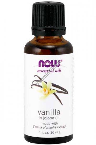 Масло ванили в масле жожоба 30 мл - Now Essential Oils