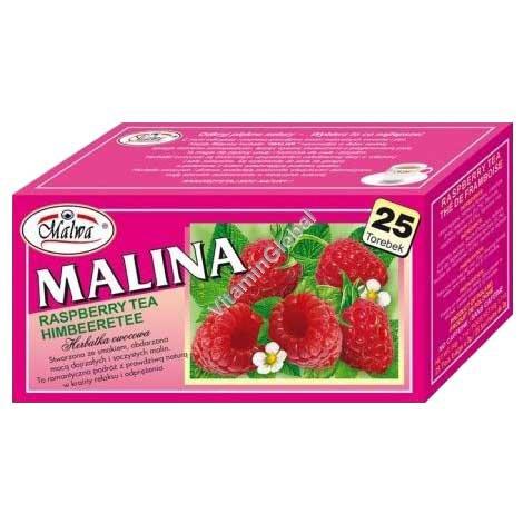 Фруктовый чай малина 25 фильтр-пакетиков - Мальва