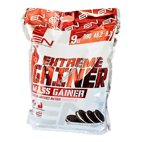 Экстрим гейнер вкус печенье-крем 9.0 кг - Extreme Nutrition