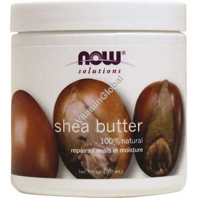 Натуральное масло ши 207 мл - NOW Foods