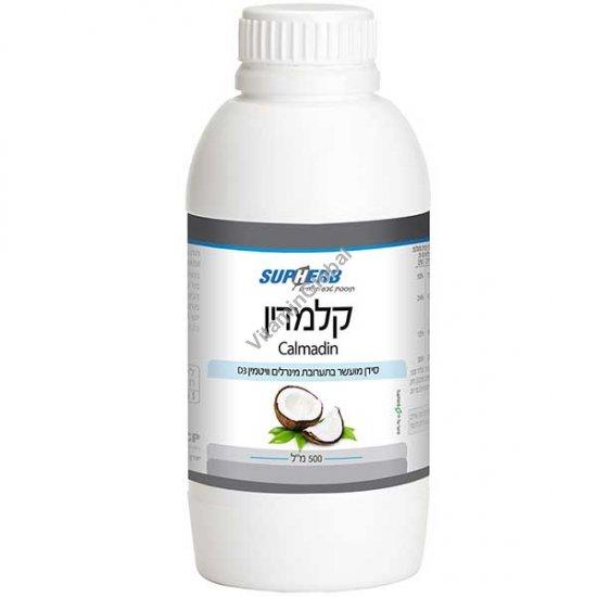 Calmadin - жидкий кальций, магний, цинк и витамин Д со вкусом пина колада 500 мл - SupHerb