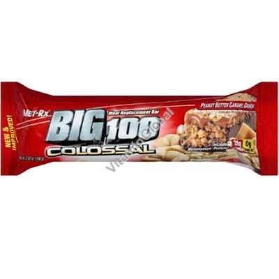 Протеиновый батончик арахис и карамель 100 гр - MET-Rx