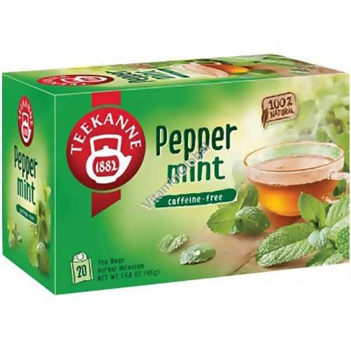 Мятный чай 20 пакетиков - Pompadour