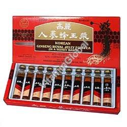 Экстракт корейского женьшеня с маточным молочком 10 бут. по 10 мл - Harbin Pharm
