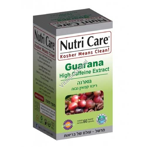 Гуарана 455 мг 60 капсул - Nutri Care