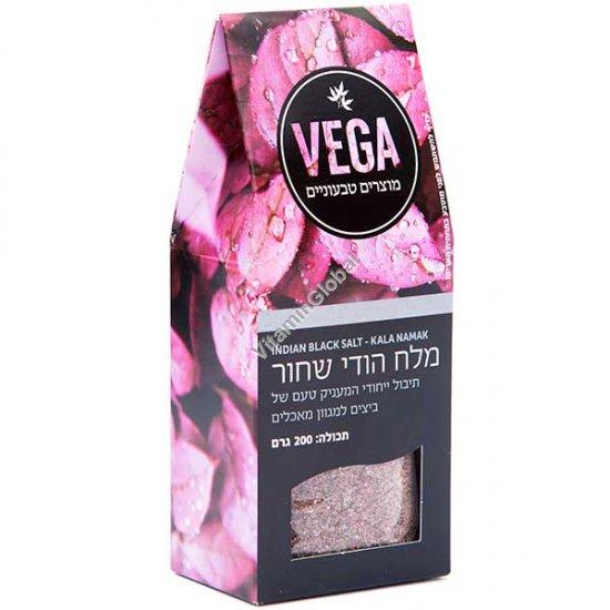 Индийская черная соль 200 гр - Vega