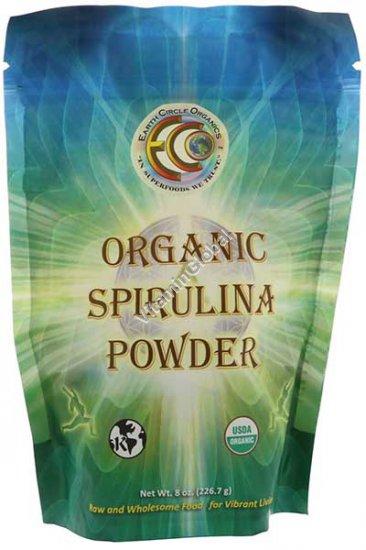 Органическая спирулина в порошке 226 гр - Earth Circle Organics