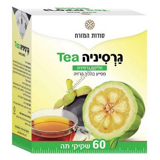 Чай гарциния для похудания и поддержания оптимального веса 60 фильтр-пакетиков - Oriental Secrets